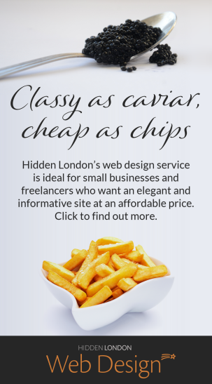 link to Hidden London web design