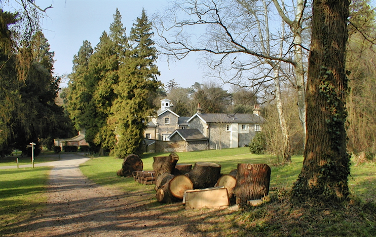 High Elms parkland