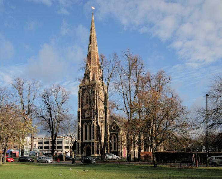 Christ Church, by Hidden London