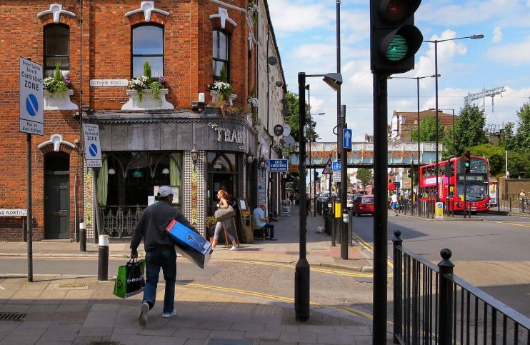 Alan Stanton - Café Tramp - Green Lanes - Harringay