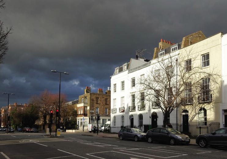 Dark Skies, Liverpool Road - David Holt
