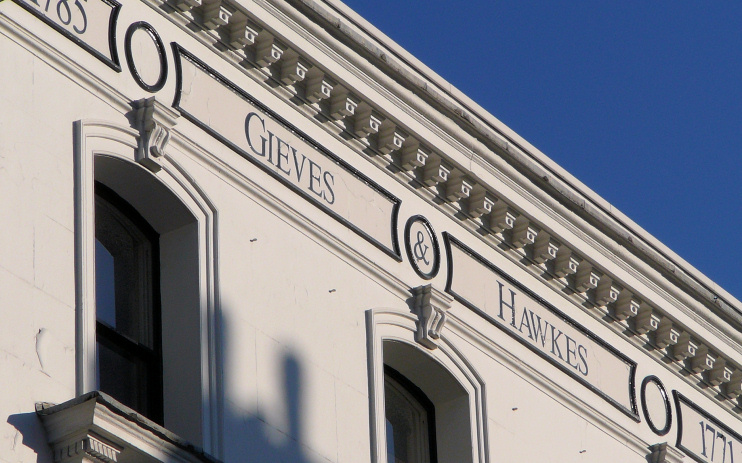 Savile Row - Gieves and Hawkes