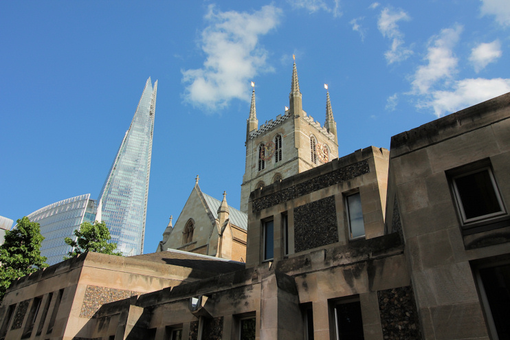 Hidden London: The Shard and Southwark Cathedral