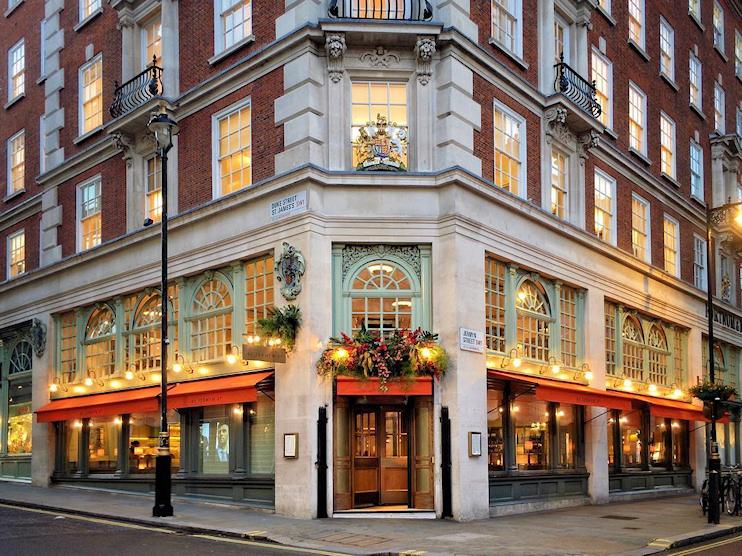 45 Jermyn Street, a restaurant