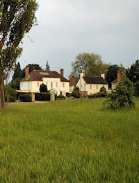 Two houses on Hadley Green