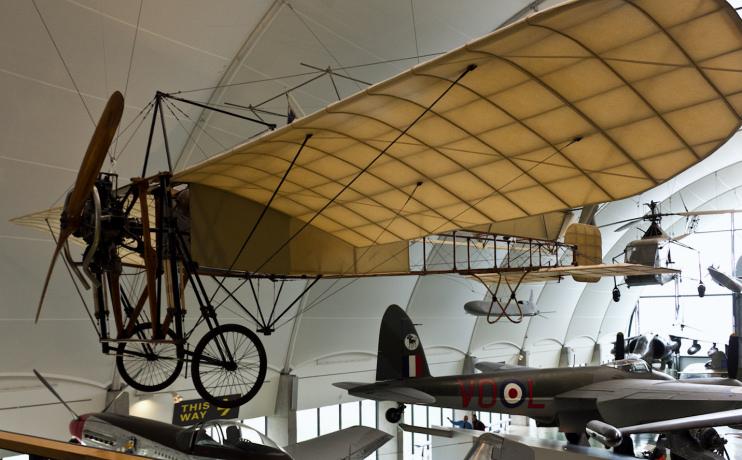 Blériot XI at the RAF Museum - Oren Rozen