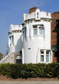 A residential folly by the by architect EG Trobridge