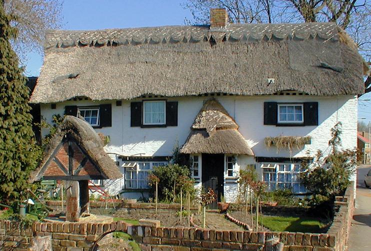 Hidden London: Ash Tree Cottage on Bath Road in Longford