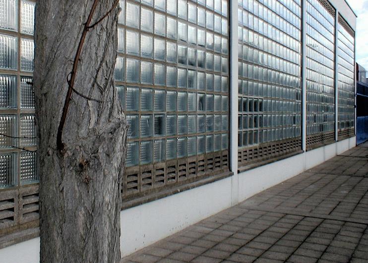 The Luxcrete building