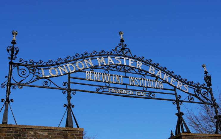 Master Bakers' benevolent institution gate