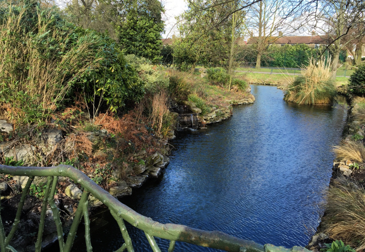 Hidden London: Medieval moat in Lloyd Park