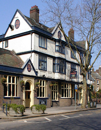 Hidden London: Stonegate Pub Company's Tally Ho North Finchley