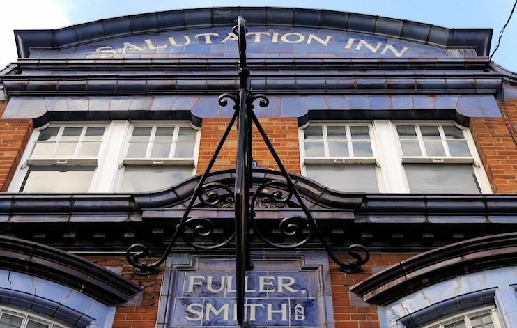 The Salutation Inn, 154 King Street, copyright Edward Hands