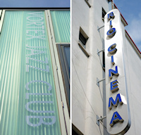 Hidden London: Vortex jazz club and Rio cinema signage