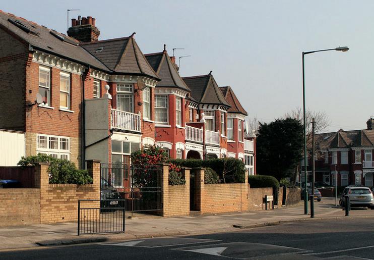 Hidden London: Houses beside Aberdeen Road