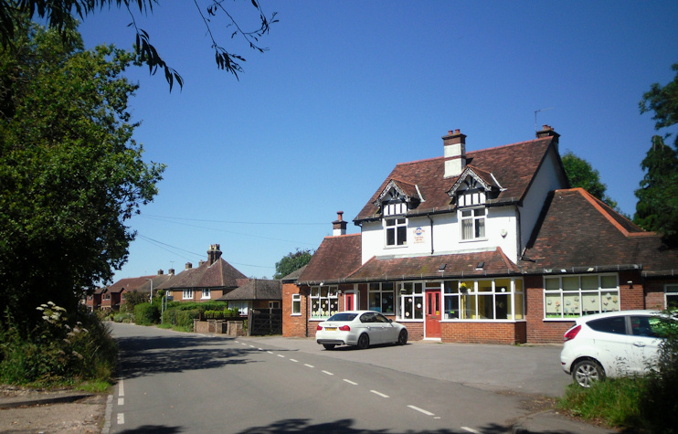 Plough public house, Hill End