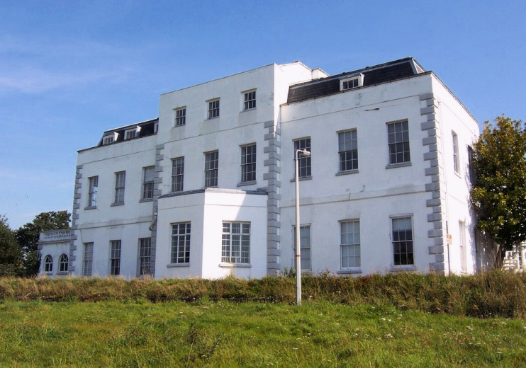 Hidden London: Hillingdon House, east facade