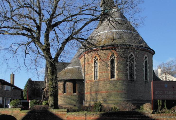 Hidden London: Holy Trinity Church, Lyonsdown