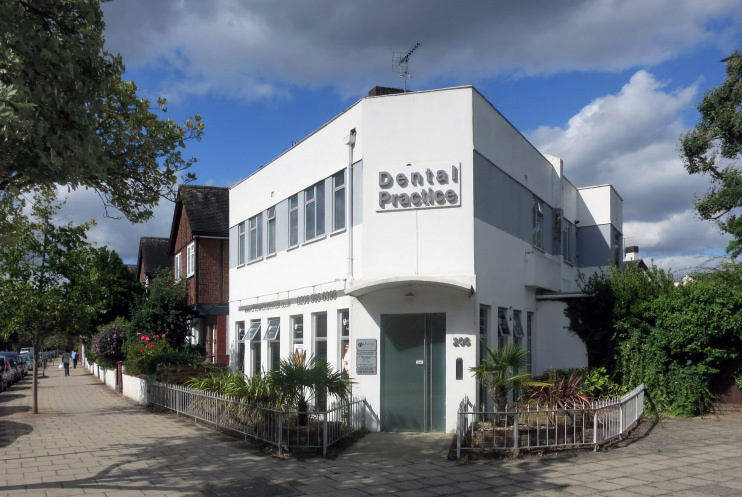 Hidden London: Dental practice, Sutton Court Road and Park Road