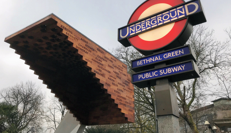 Hidden London: Bethnal Green memorial