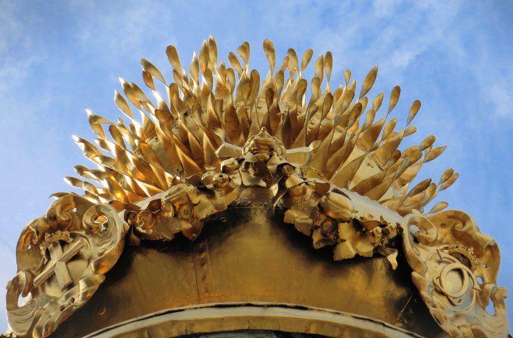 Hidden London: The Monument's gilded flames