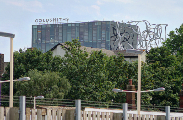 Goldsmiths, seen from New Cross Gate