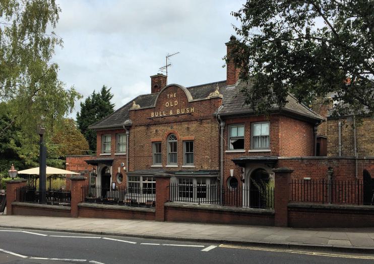 Hidden London: The Old Bull and Bush, exterior