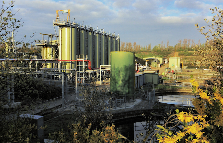 Hidden London: Mogden wastewater works