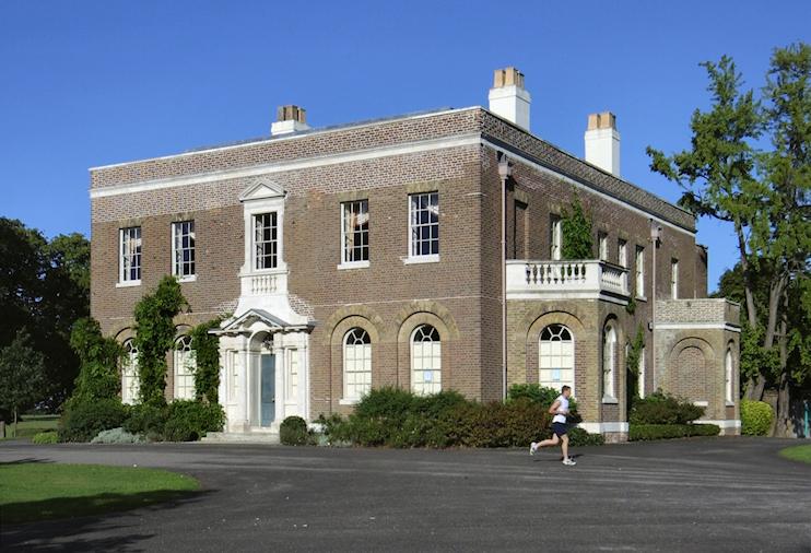 Hidden London: Morden Park House with jogger passing