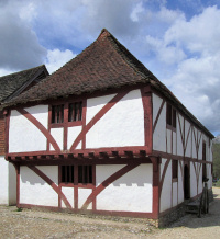 Hidden London: medieval hall house, formerly in North Cray