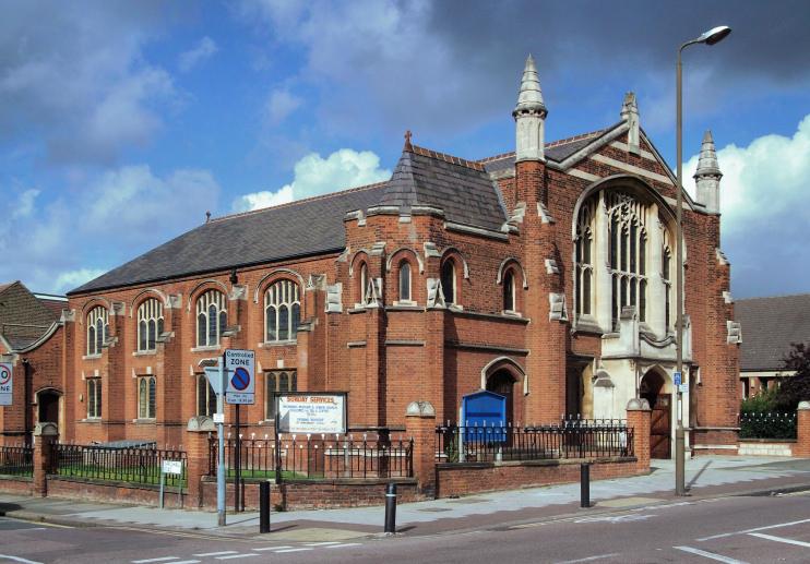 Hidden London: Eltham Park Methodist Church by David Anstiss