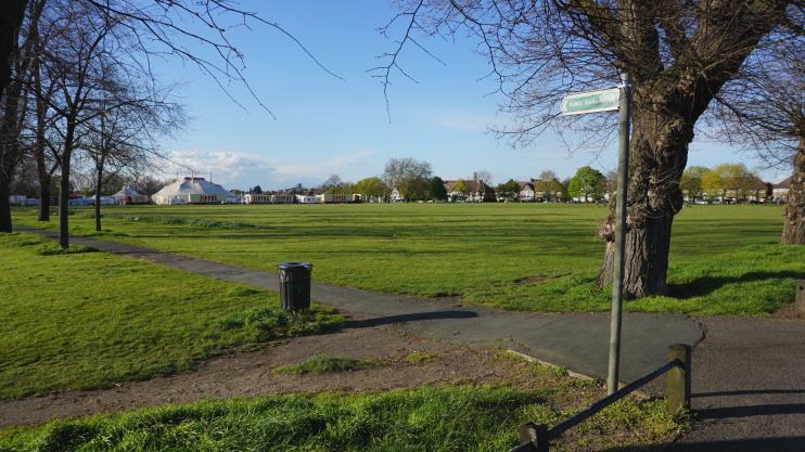 Hidden London: Public footpath across Figge's Marsh by Bill-Boaden