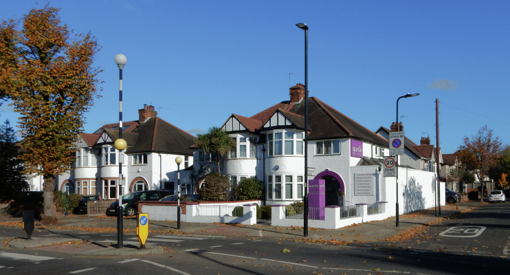 Hidden London: Boston Road at the junction with Haslemere Avenue