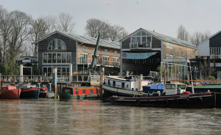 Hidden London: Eel Pie boatyard and Phoenix Wharf