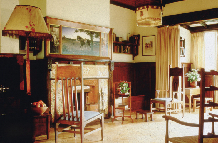 Hidden London: The sitting room at Little Holland House (image courtesy of the London Borough of Sutton)