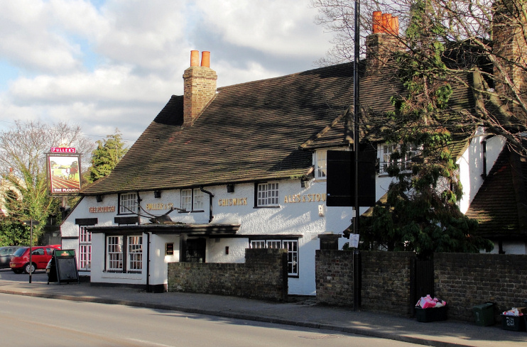 Hidden London: The Plough Inn at Norwood Green by Maxwell Hamilton