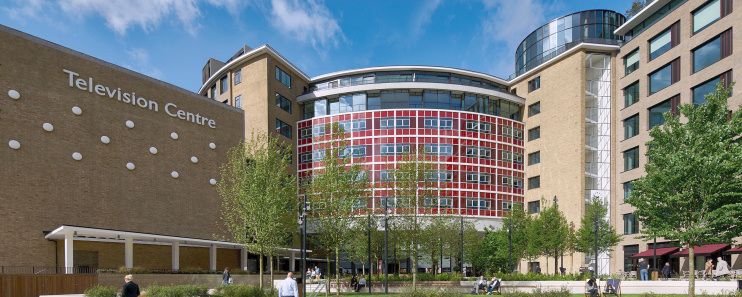Hidden London: redeveloped BBC Television Centre, CGI by Stanhope