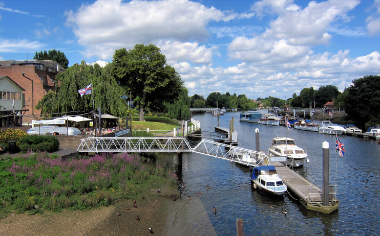 Hidden London: Teddington Lock by Hugh Venables