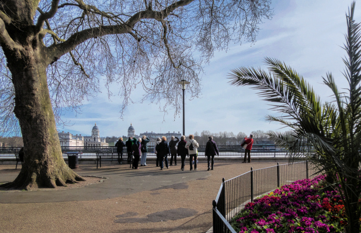 Hidden London: Island Gardens by Christine Matthews