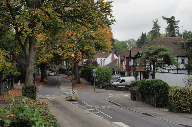 Hidden London: Woodmansterne Road and Beeches Walk, Carshalton Beeches, by Peter Trimming