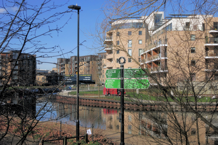 Hidden London: the Capital Ring at Lea Bridge by Des Blenkinsopp