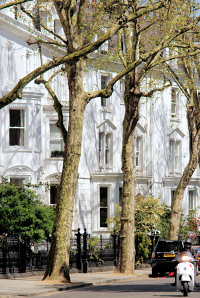 Hidden London: Old Brompton Road, close to the junction with Bolton Gardens, by Peter Trimming