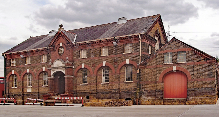 Hidden London: former Longwater pumping station by Julian Osley
