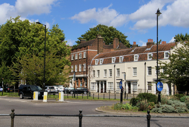 Hidden London: The Green in Old Southgate by Christopher Hilton