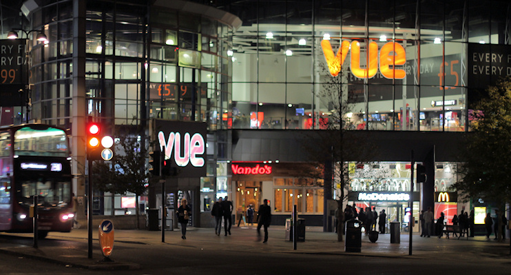Hidden London: Wood Green Vue, Nandos and McDonalds - September 2018