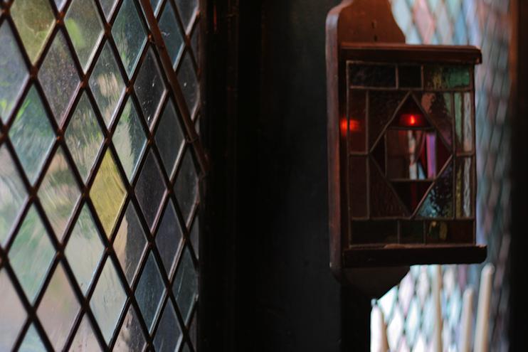 Hidden London: Mayflower leaded glass