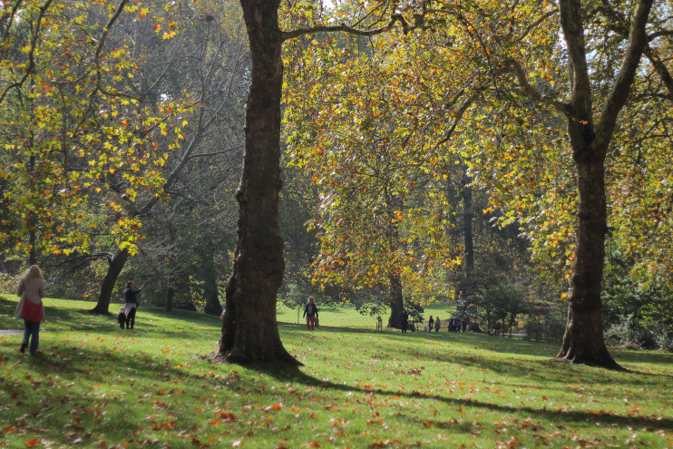 Hidden London: Green Park, October 2018