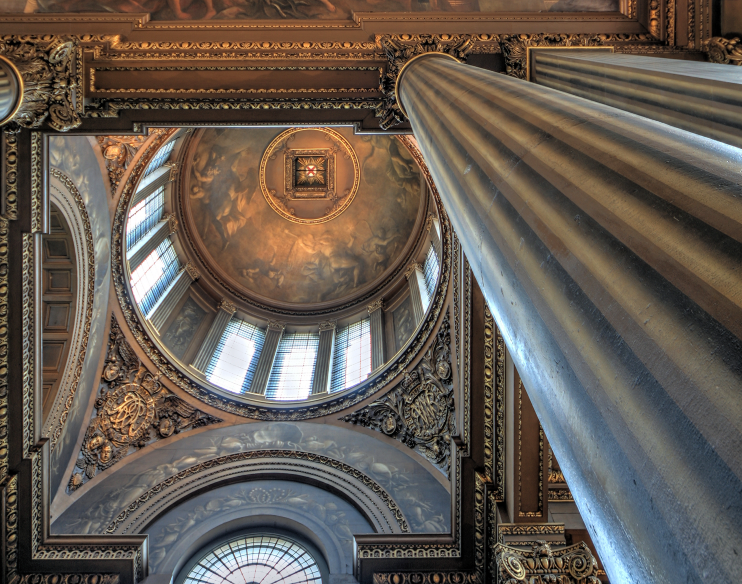 Hidden London: Painted Hall ceiling
