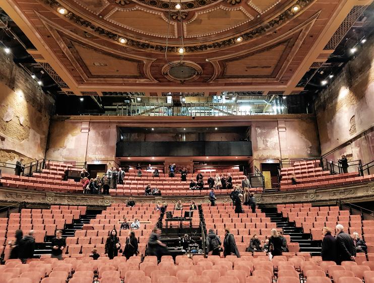 Hidden London: Alexandra Palace theatre