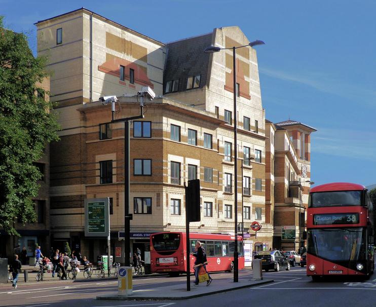 Hidden London: Angel tube station by Philafrenzy